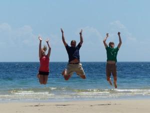 JumpingKI beach