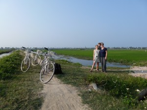 family rice paddy