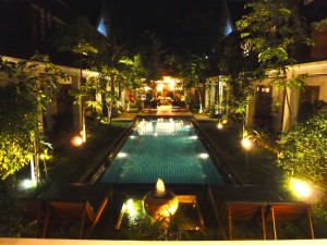 PoolAt Night